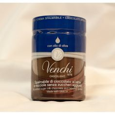 Directly from the highest Tradition of the piemontese Chocolatier arrives the sugar-free Hazelnut Chocolate spread of the Venchi, a company renowned in all of the world for the craftsmanship and the exceptional quality of its products.  Venchi spread is the ideal product for those who look for foods that are not only delicious to taste, but also natural and healthy.  Visit us at http://healthygoodies.ch to purchase!