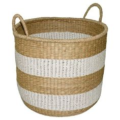 Seagrass & Palm Leaf Basket Medium - Threshold™ at Target