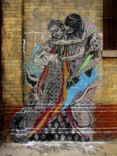 swoon, nyc.. i love grafitti art