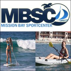 $20 for $100 toward Water Sports & Beach Rentals at Mission Bay Sportcenter #utdeals #beachrentals