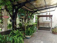 biet-thu-bo-song-quan2-12x25m (1) Villa, Plants, Flora, Plant, Fork, Villas, Planting, Mansions