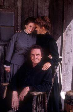 Dr. Quinn, Medicine Woman. · Kid Cole (Johnny Cash), Sister Ruth (June Carter-Cash)