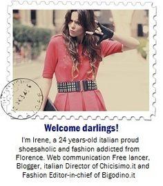 Irene Colzi of www.ireneccloset.com for Fashion Feed www.facebook.com/FashionFeed.mobi Fashion Editor, Fashion Addict, Web Communication, 24 Years Old, Irene, Facebook, Fashion Design