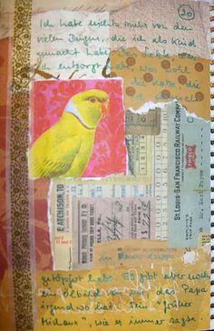 Art Journal by Angelika   www.cutetape.com