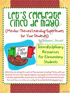 Let's Celebrate Cinco de Mayo! (Mexico-Themed Lessons)