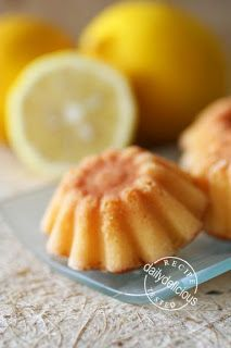 dailydelicious: Honey Lemon Madeleine: Lovely Tea Time Treats