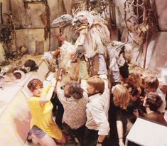 two's company, three's a crowd, and twelve's a whole mess of people playing with puppets. THE DARK CRYSTAL (Jim Henson, Frank Oz)