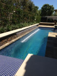 It's time again for another Feature Friday! Thank you to Poolscapes and Designs for this beautiful picture! This lovely pool features a 20' Custom Cascade stainless steel rainfall. Truly a job well done!