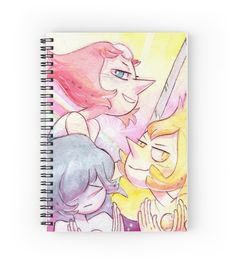 The Pearls - Steven Universe Blue Pearl, Yellow Pearl, Our Pearl by livielightyear