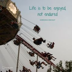 Take time to swing in the sunset :)  #TravelTuesday #smile #CedarPoint #ourlife