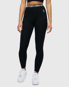 bef84502a229 WOMEN S OVO LEGGING - BLACK Black Leggings