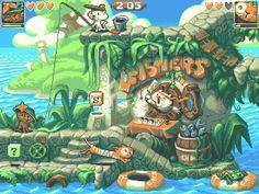 "Andylittle on Twitter: ""-The Lost Kittings - (Old pixels for challenge on @pixeljoint) #pixelart #cat #kitty… """