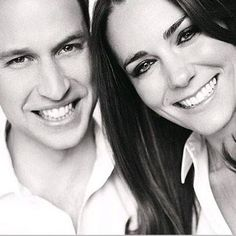 """Duchess and Duke of Cambridge. Kate and William. """"When your Soul finds her Soulmate, she knows that their crossing the paths is not an accident. She also knows that not only they were destined to meet precisely at that moment, but also they had met many times before, in various forms in numerous life cycles before."""" - Deodatta V. Shenai-Khatkhate. Royal portrait by fashion photographer Mario Testino #fashion #style #MarioTestino #Design #Photo #FashionCourier #Model #Clothes"""