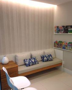 """""""Consultório Copacabana - Recepção #hdarquitetura #decoração #interior #consultorio #arquiteturadeinteriores  #projeto #decor #interiores  #decoração…"""""""