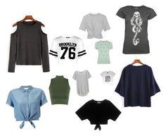 """T-shirts i'd Like to wear😘👚"" by daantjeeeeeeee ❤ liked on Polyvore featuring Boohoo, Oasis, WearAll, Splendid, T By Alexander Wang and Miss Selfridge"