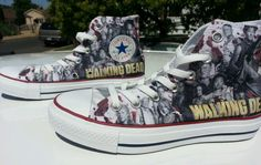 Walking Dead Custom Converse
