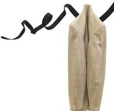 Scopri Appendiabiti Ruban, Nero di Pa Design, Made In Design Italia