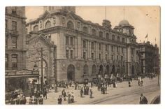 Postcard of Post Office Auckland. Advertising card New Zealand High Commissioner London. - 69713 - Postcard - Postcards Post Offices - Postcards By Theme - EASTAMPS Auckland New Zealand, Post Office, Offices, Postcards, Louvre, Advertising, London, Building, Travel