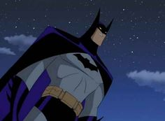 Batman from the Justice League and Justice League Unlimited Animated Series