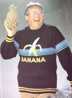The must-have fashion accessory of 2012: Pineapple. Rock it with your favorite banana sweater for an ironic twist.