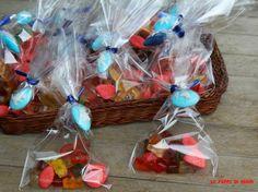 Sacchetti di caramelle, regalo di fine festa