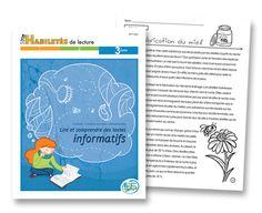 Lire et comprendre des textes informatifs Habiletés de lecture - Matériel reproductible - Les Éditions Passe-Temps