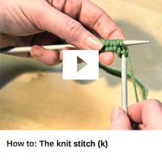 Get Started - Knit | Yarn | Knitting Patterns | Crochet Patterns | Yarnspirations