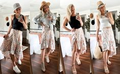 1 Wrap Skirt 4 Looks Stick It Out, Night Looks, Layered Look, Skirt Outfits, Sequin Skirt, Photoshoot, Skirts, Beautiful, Skirt