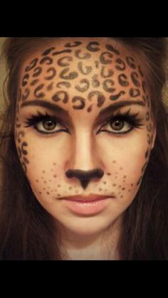 Cheeta face paint