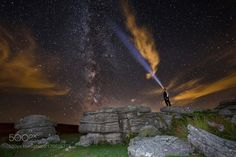Star Gazing  me looking up at the milky way at Combestone Tor on Dartmoor Devon  Camera: Canon EOS 5D Mark III  Image credit: http://ift.tt/2bMrHXN Visit http://ift.tt/1qPHad3 and read how to see the #MilkyWay  #Galaxy #Stars #Nightscape #Astrophotography