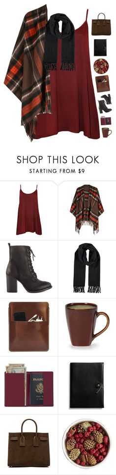 """""""Combat boots"""" by genesis129 ❤ liked on Polyvore featuring WearAll, Steve Madden, Palila, Royce Leather, Coach, Yves Saint Laurent, Pier 1 Imports and vintage"""