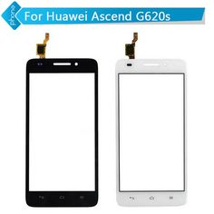 For Huawei Ascend G620s Touch Screen Digitizer Front Glass Black White