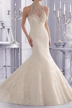 1,595$  Buy now - http://visch.justgood.pw/vig/item.php?t=l23mm23923 - Halter Top Bridal Gown