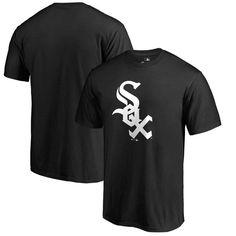 Chicago White Sox Fanatics Branded Primary Logo T-Shirt - Black
