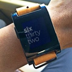 HelpDesk: Pebble! Smartwatch with a Character!