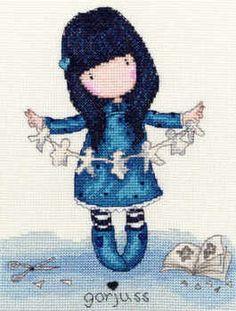 Family - Gorjuss Cross Stitch