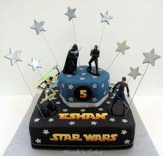 Lego Star Wars cake ideas Cake decorating Pinterest Star