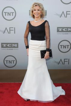 She's the lady of the hour! Stars celebrated the career of legendary actress Jane Fonda, who was honored with the American Film Institute's 42nd Life Achievement Award on June 5, 2014.