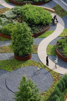 Landscape design is an independent profession and a design and art tradition, practised by landscape designers, combining birds and culture. In contemporary practice, landscape design bridges the aerate between landscape architecture and garden design. Villa Architecture, Landscape Architecture Design, Landscape Plans, Urban Landscape, Architecture Diagrams, Park Landscape, Landscape Architects, Landscape Designs, Architecture Portfolio