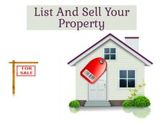 Quickly want to #sell your #property? #List now and get it sold in next few days!