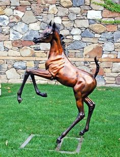 Arabian Horse Bronze Sculpture by J. Anne Butler - Sculpture, Art