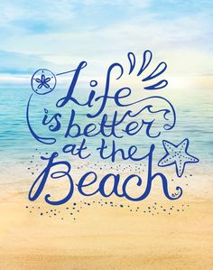 Life is Better at the Beach! Throw Pillow by BeachLivingUS - Cover x with pillow insert - Indoor Pillow Beach Aesthetic, Vacation Shirts, Iphone Skins, Bat Mitzvah, My Happy Place, Cute Quotes, Life Is Good, Photo Wall, Good Things