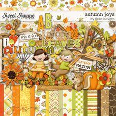 Autumn Joys by lliella designs. $6.99