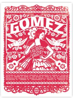 Winter Tour 2012 - Screenprint Poster...they finally have it online to buy