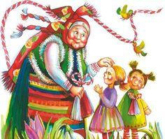 Позитивното - храна за душата: Приказка за Баба Марта и обичаят с мартениците