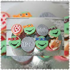 TMNT - Teenage Mutant Ninja Turtle Custom Cupcakes