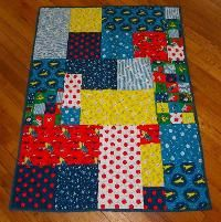 Goodnight Moon Baby Quilt or Play Mat - via @Craftsy