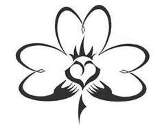 Claddagh Shamrock Tattoo: if I ever nutt up enough for a tattoo...this will be it