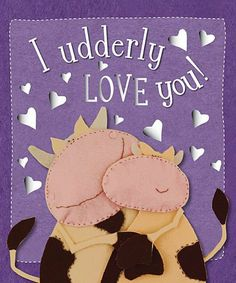 I Udderly Love You Ver 1 (Kate Toms Series) by Kate Toms. $7.95. Reading level: Ages 0 and up. Publisher: Make Believe Ideas (January 1, 2007). Series - Kate Toms Series. Publication: January 1, 2007