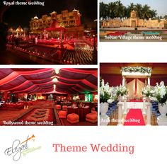 Popular #theme #weddings offering at Elegant Events & Weddings in affordable #package . Contact us now for unforgettable wedding #event :